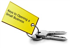 keys to opening a small business