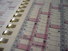free time management tips, use day planner to prioritize